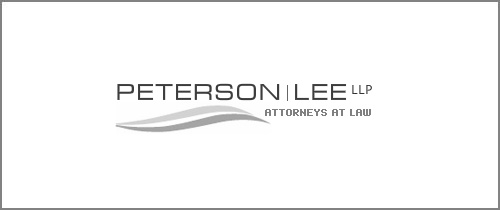 Peterson firm logo design
